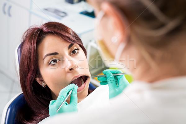 Dental Inspection Stock photo © MilanMarkovic78