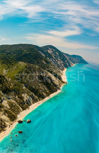 View Above Of Seashore  Stock photo © MilanMarkovic78