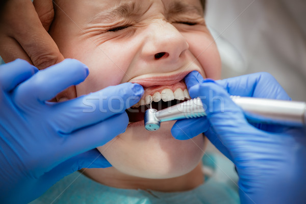 At The Dentist Stock photo © MilanMarkovic78