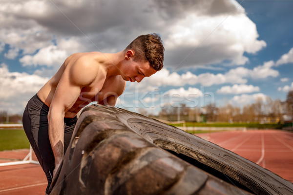 Time To Maximize Those Muscles Stock photo © MilanMarkovic78