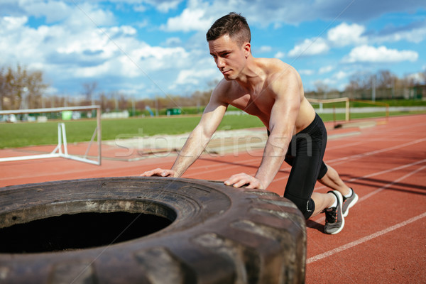 Getting Stronger Day By Day Stock photo © MilanMarkovic78