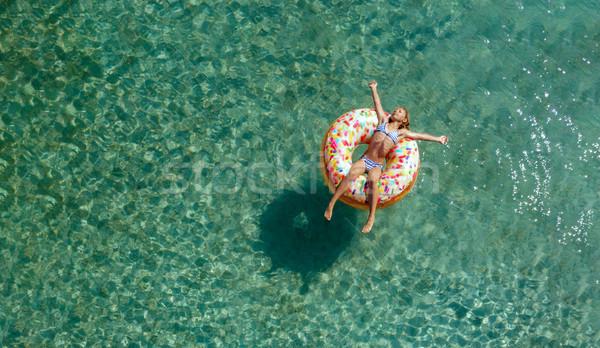 Fun In The Water Stock photo © MilanMarkovic78