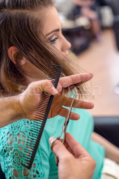 Hair Cutting Stock photo © MilanMarkovic78