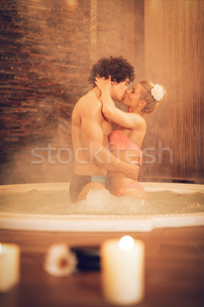 Couple At The Spa Centre Stock photo © MilanMarkovic78