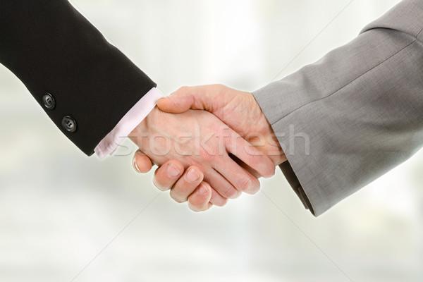 クローズアップ ビジネスの方々  握手 その他 女性 会議 ストックフォト © MilanMarkovic78