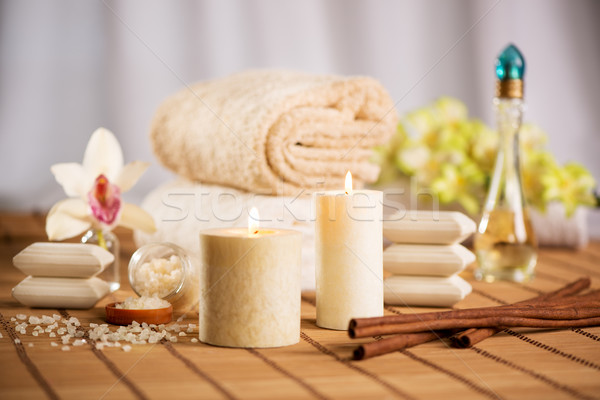 Spa And Aroma Therapy Stock photo © MilanMarkovic78