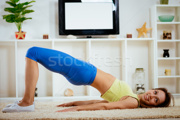 Determined To Get Slimmer Stock photo © MilanMarkovic78