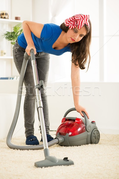 Vacuuming Stock photo © MilanMarkovic78