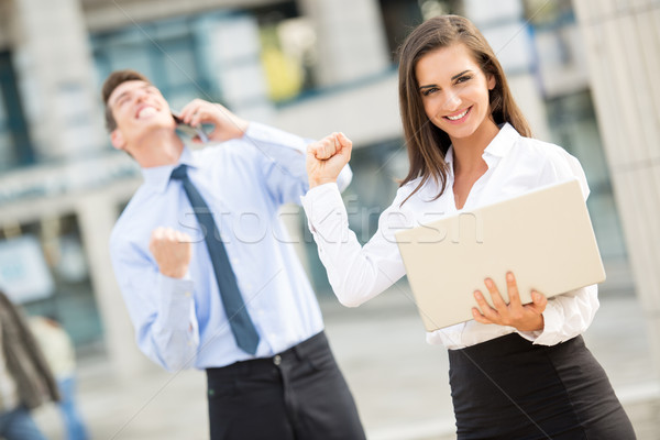 Successful Young Business woman Stock photo © MilanMarkovic78