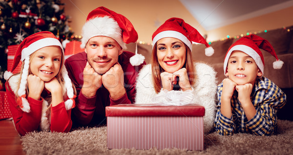 Stock photo: Waiting For A Santa Claus