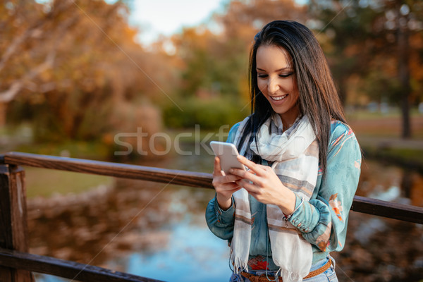 Happy Message Has Arrived Stock photo © MilanMarkovic78