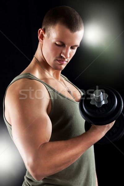 Muscular Man Stock photo © MilanMarkovic78