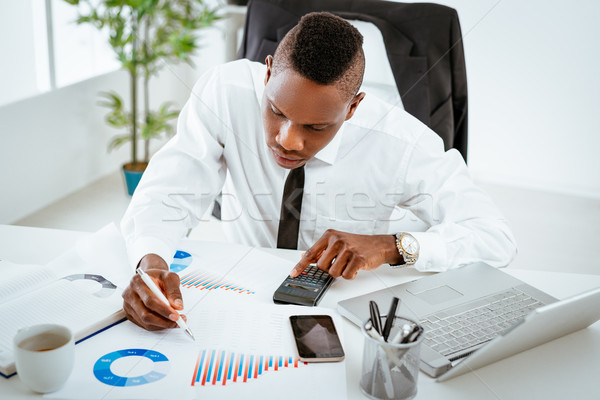 African Businessman Stock photo © MilanMarkovic78