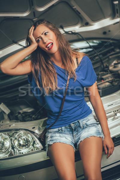 Car Trouble Stock photo © MilanMarkovic78