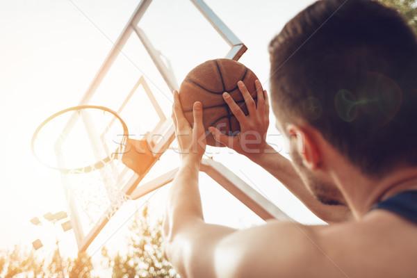 Free Basketball Throw Stock photo © MilanMarkovic78