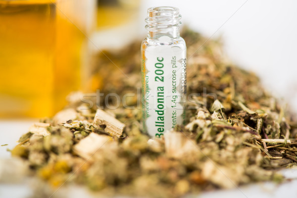 Homeopathic Medicine Stock photo © MilanMarkovic78