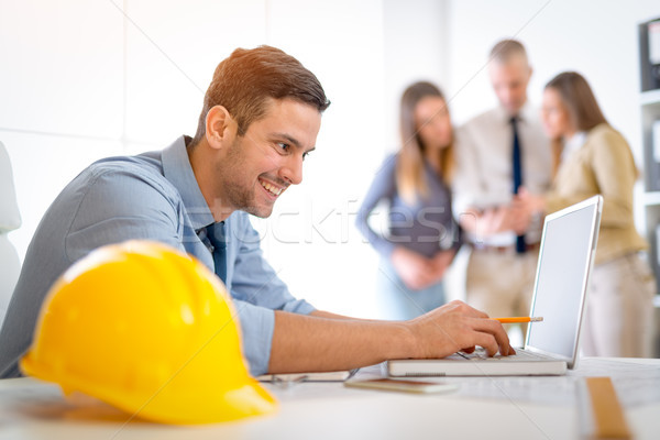 Young Constructor Stock photo © MilanMarkovic78