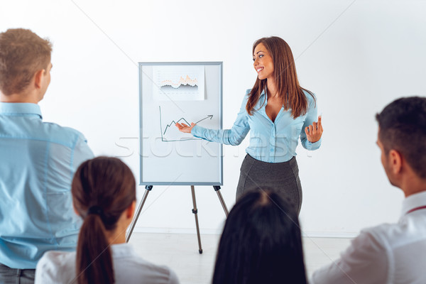 She's A Great Communicator  Stock photo © MilanMarkovic78