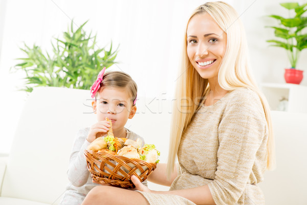 Mom's Pastry Is The Best Stock photo © MilanMarkovic78