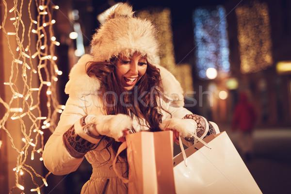 Holiday Shopping Stock photo © MilanMarkovic78