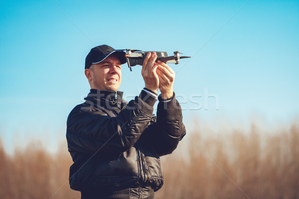 Drone Ready To Launch Stock photo © MilanMarkovic78