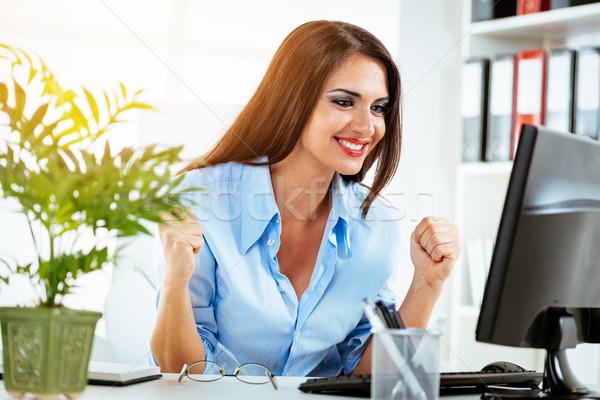 Succesful Businesswoman Stock photo © MilanMarkovic78