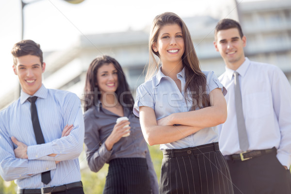 Young Business People Outdoor Stock photo © MilanMarkovic78