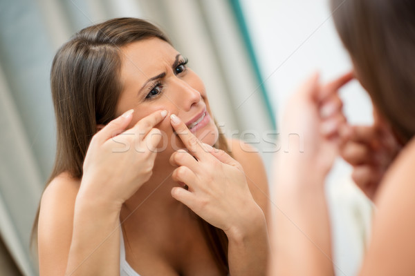 Is That Acne? Stock photo © MilanMarkovic78