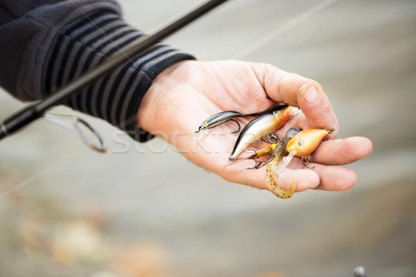 Stock photo: Fishing Lures