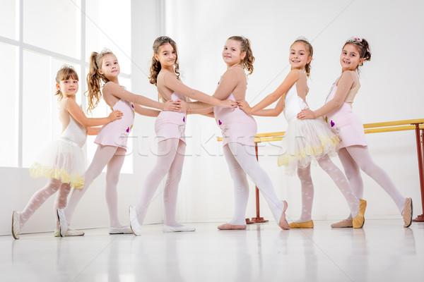 Little Girls Stock photo © MilanMarkovic78
