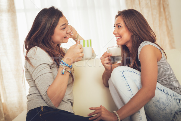 Best Female Friends Stock photo © MilanMarkovic78