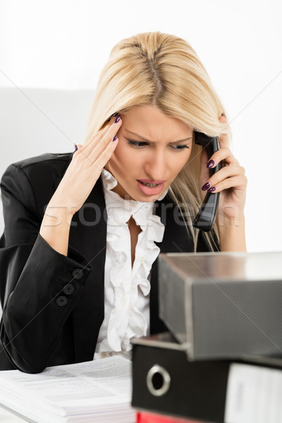 Bad News For Business Stock photo © MilanMarkovic78