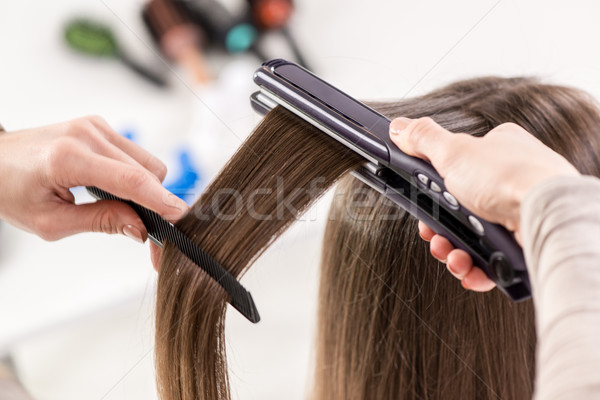 Hair Straighteners Stock photo © MilanMarkovic78