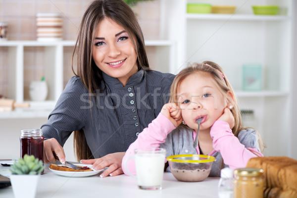 Preparing Breakfast Stock photo © MilanMarkovic78