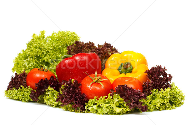 Fresh vegetables decoration Stock photo © MilanMarkovic78