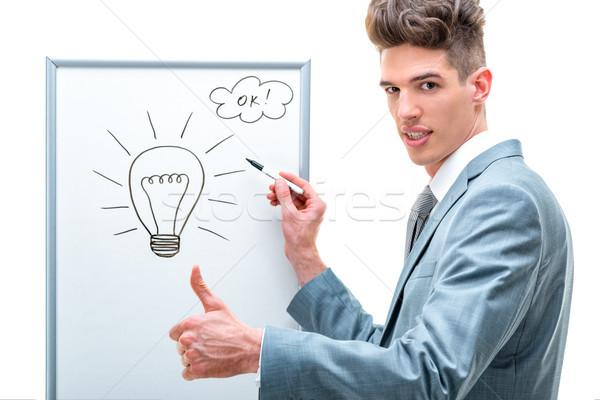 Bright Idea Stock photo © MilanMarkovic78