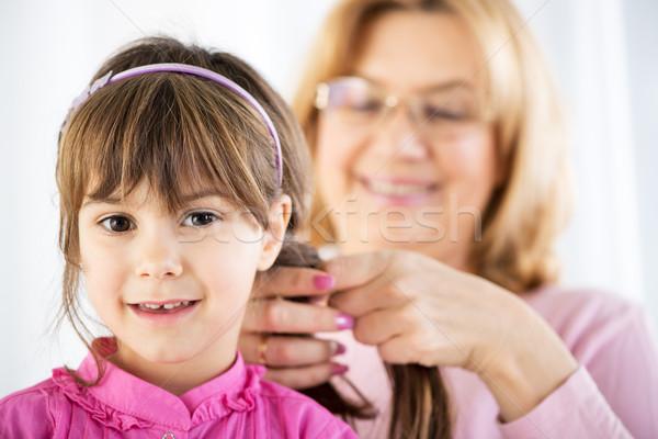 Cute little girl Stock photo © MilanMarkovic78