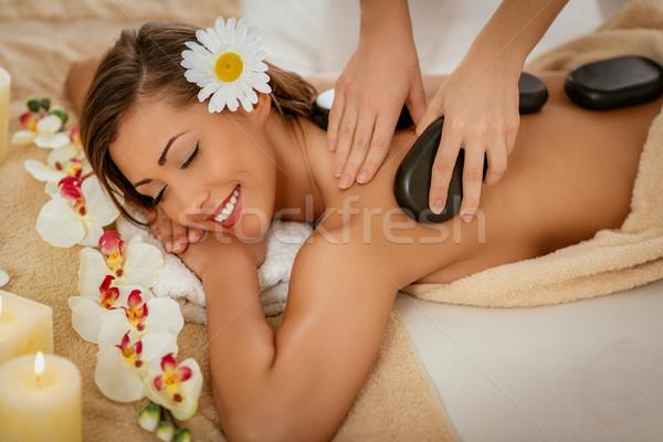 Lastone Therapy Stock photo © MilanMarkovic78