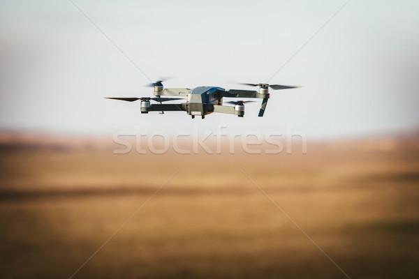 Drone Fly In The Sky Stock photo © MilanMarkovic78