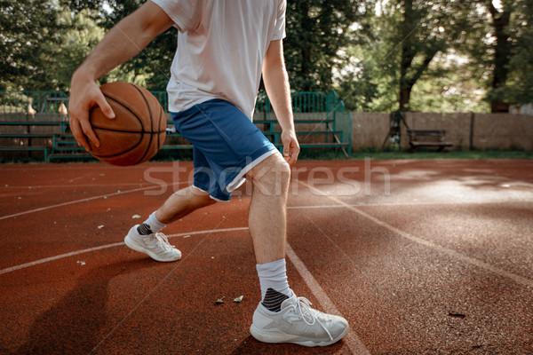 Fähigkeiten unkenntlich jungen Straße Stock foto © MilanMarkovic78