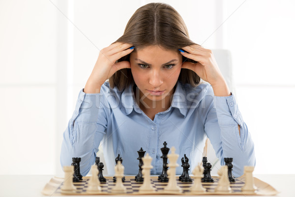 Thinking About A New Move Stock photo © MilanMarkovic78