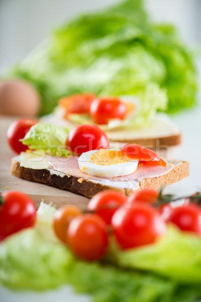 Sandwich Stock photo © MilanMarkovic78