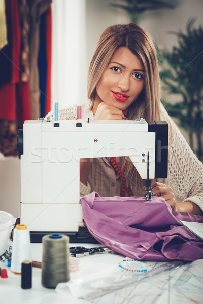 Young Fashion Designer Stock photo © MilanMarkovic78