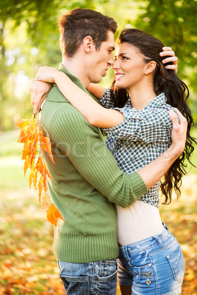 Para miłości młodych Zdjęcia stock © MilanMarkovic78