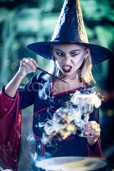 Magic Potion In The Goblet Stock photo © MilanMarkovic78
