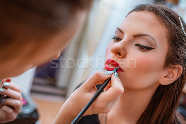 Stock photo: Lips For Kiss