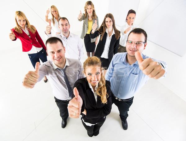 Business-Team Gruppe erfolgreich Geschäftsleute Stock foto © MilanMarkovic78