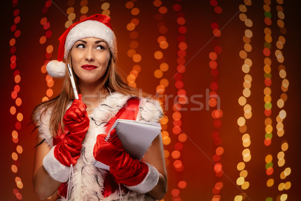 Christmas Wishes Stock photo © MilanMarkovic78