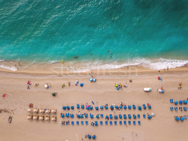 Above The Beach Stock photo © MilanMarkovic78