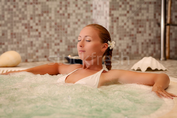 Relaxation In The Spa Stock photo © MilanMarkovic78